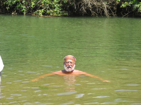 Swimming in the Monkey River