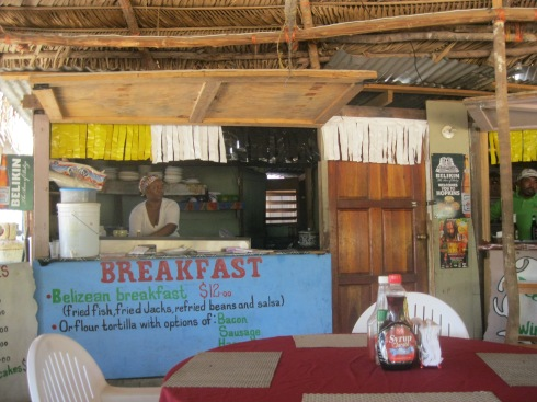 Breakfast, anywhere $12 bze = 6 usd