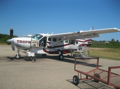 Dangriga to Belize City with Tropic Air